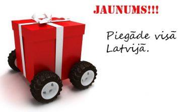 Piegāde visā Latvijas teritorijā